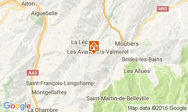 Carte Valmorel Chalet 106383