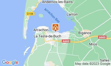 Carte Arcachon Mobil-home 93639