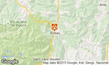 Carte Saint Lary Soulan Chalet 4470