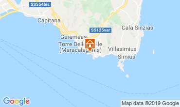 Carte Solanas Villa 58936