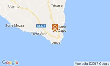 Carte Santa Maria di Leuca Appartement 110250