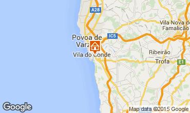 Carte Vila do Conde Chalet 101366