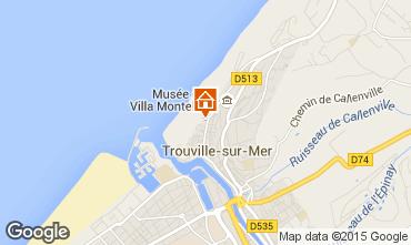 Carte Trouville sur Mer Appartement 10801