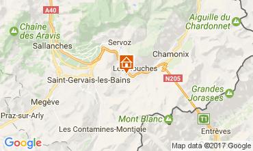 Carte Chamonix Mont-Blanc Appartement 108076