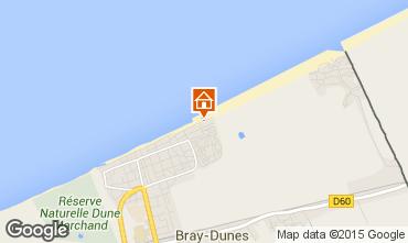Carte Bray-Dunes Appartement 93449