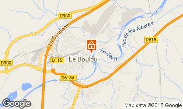 Carte Le Boulou Maison 91124