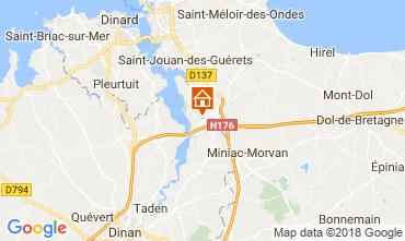 Carte Saint Malo Maison 68641