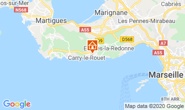 Carte Carry le Rouet Villa 110191