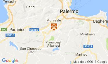 Carte Palerme Villa 110302