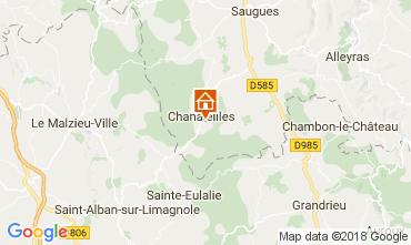 Carte Le Puy en Velay Gite 113350