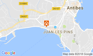 Carte Juan les Pins Appartement 10385