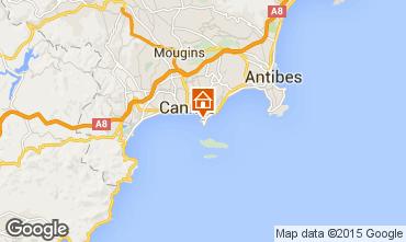 Carte Cannes Studio 93279