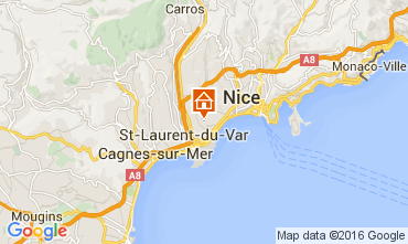 Carte Nice Appartement 105916