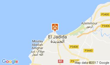 Carte El Jadida Gite 109256