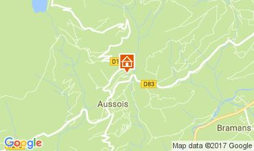 Carte Aussois Appartement 111664