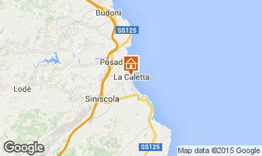 Carte La Caletta Appartement 18017