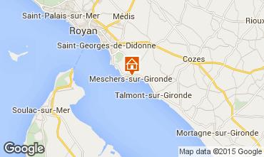 Carte Saint Georges de Didonne Villa 100557