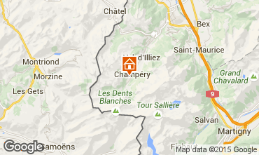 Carte Champ�ry Chalet 4809