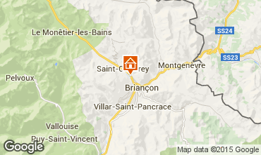 Carte Briançon Appartement 80698