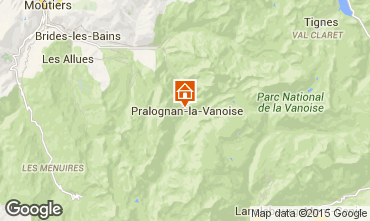 Carte Pralognan la Vanoise Appartement 89173