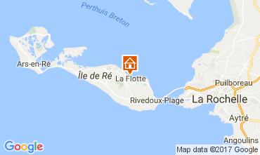 Carte La Flotte en Ré Villa 107831