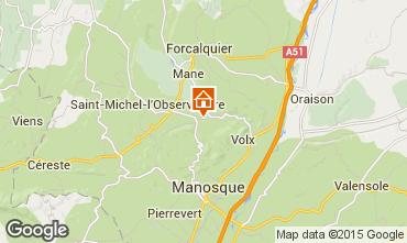 Carte Forcalquier Gite 11875