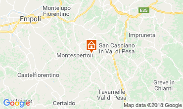 Carte Montespertoli Bungalow 115969