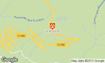 Carte La Rosi�re 1850 Chalet 67084