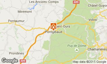Carte Clermont-Ferrand Gite 100191