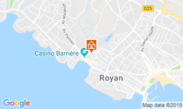 Carte Royan Villa 61811