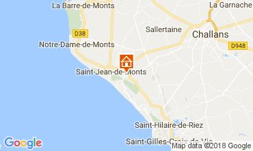 Carte Saint Jean de Monts Mobil-home 110318