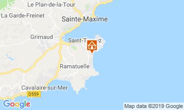 Carte Saint Tropez Mobil-home 71680