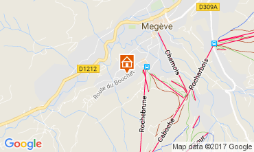 Carte Megève Chalet 112260