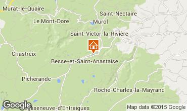 Carte Besse et Saint Anastaise Chalet 3837
