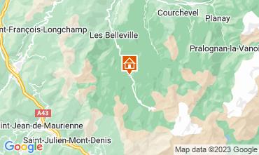 Carte Les Menuires Chalet 111406