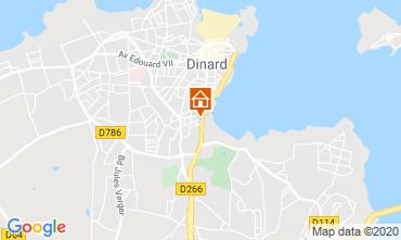 Carte Dinard Villa 113143
