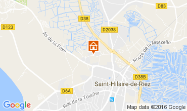 Carte Saint Hilaire de Riez Mobil-home 107395