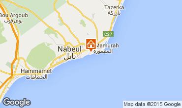 Carte Nabeul Villa 71689