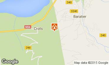 Carte Les Orres Chalet 74692