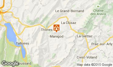 Carte La Clusaz Chalet 81466
