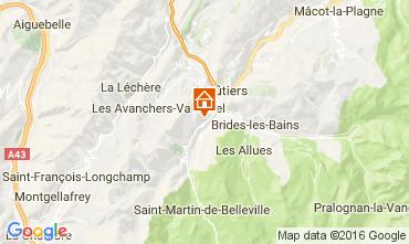 Carte Saint Martin de Belleville Chalet 2645
