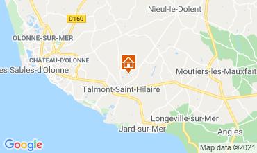 Carte Talmont-Saint-Hilaire Maison 93383