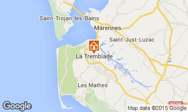 Carte La Tremblade Gite 99835
