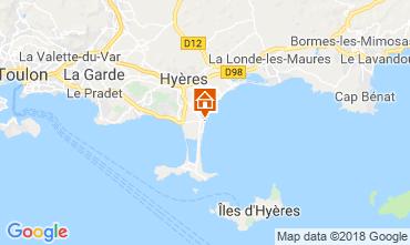Carte Hyères Studio 116723