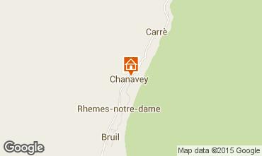Carte Rh�mes-Notre-Dame Appartement 101792