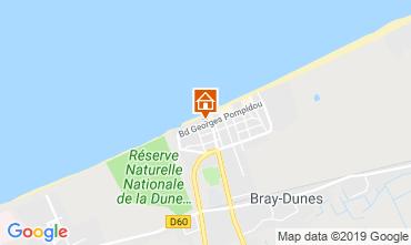 Carte Bray-Dunes Appartement 112194