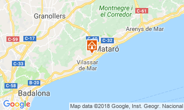 Carte Barcelone Villa 116089