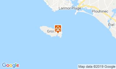 Carte Locmaria - Ile de Groix Appartement 118617