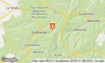 Carte La Bresse Appartement 99262