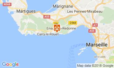 Carte Ensues La redonne Appartement 113503